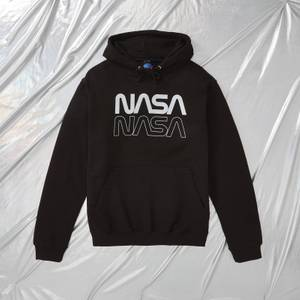 NASA Apollo 11 Logo Unisex Hoodie - Schwarz