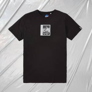 NASA Apollo 11 Moonwalk Unisex T-Shirt - Black