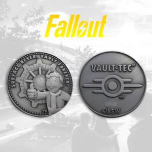 Fallout Collector's Limited Edition Coin: Silver Variant