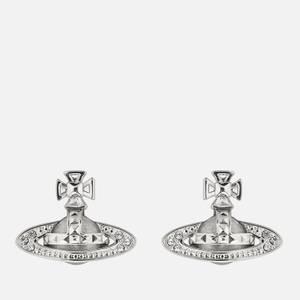 Vivienne Westwood Women's Pina Bas Relief Earrings - Rhodium Crystal