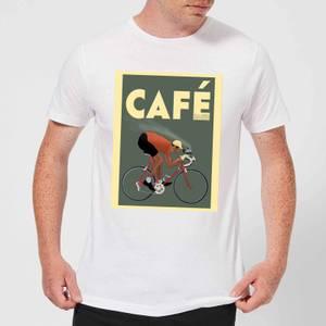 Mark Fairhurst Cafe Racer Men's T-Shirt - White
