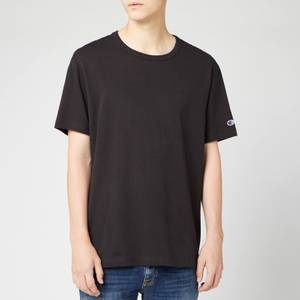 Champion Men's Sleeve Logo T-Shirt - Black