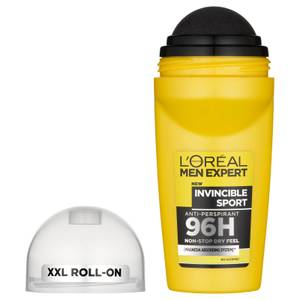 L'Oréal Men Expert Invincible Sport 96H Roll On Anti-Perspirant Deodorant 50ml