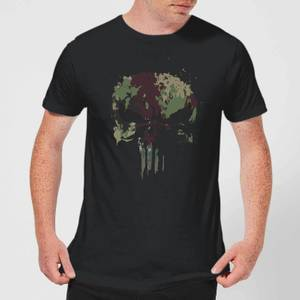 T-Shirt Marvel Camo Skull - Nero - Uomo