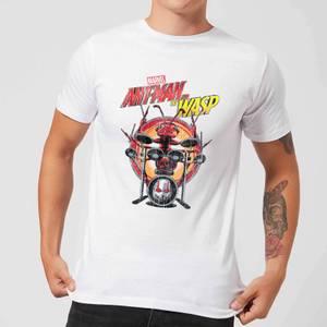 Marvel Drummer Ant Men's T-Shirt - White