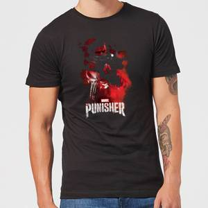 Marvel The Punisher Men's T-Shirt - Black