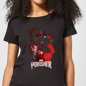 Marvel The Punisher Women's T-Shirt - Black