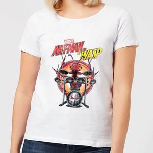 T-Shirt Marvel Drummer Ant - Bianco - Donna