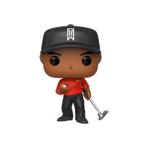 Tiger Woods (Red Shirt) Pop! Vinyl Figure