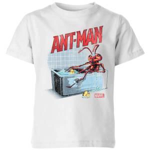 Marvel Bathing Ant Kids' T-Shirt - White
