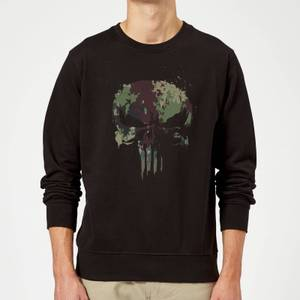 Marvel Camo Skull Sweatshirt - Black