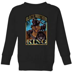 Marvel Black Panther Homage Kids' Sweatshirt - Black