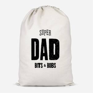 Super Dad Bits And Bobs Cotton Storage Bag