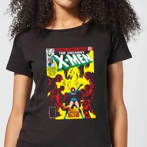 X-Men Dark Phoenix The Black Queen dames t-shirt - Zwart