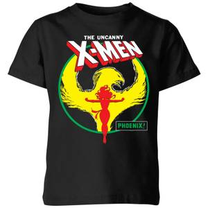 X-Men Dark Phoenix Circle Kids' T-Shirt - Black