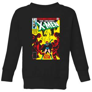 X-Men Dark Phoenix The Black Queen Kids' Sweatshirt - Black