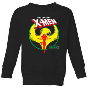 X-Men Dark Phoenix Circle Kids' Sweatshirt - Black