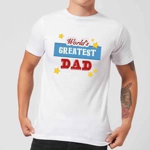 World's Greatest Dad Men's T-Shirt - White
