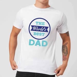 The World's Best Dad Men's T-Shirt - White