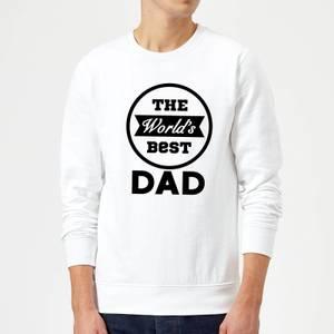 The World's Best Dad Sweatshirt - White
