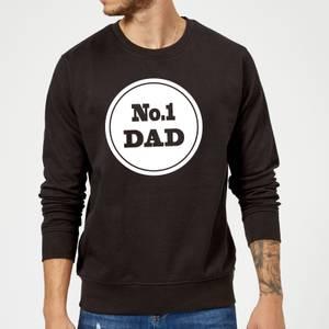 No. 1 Dad Sweatshirt - Black