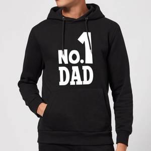 No. 1 Dad Hoodie - Black