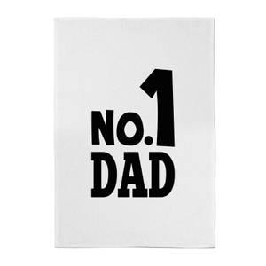 No. 1 Dad Cotton Tea Towel
