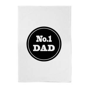 No.1 Dad Cotton Tea Towel