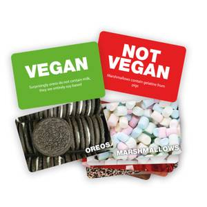 Vegan Not Vegan Card Game