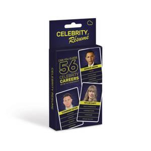 Celebrity Resume Card Game