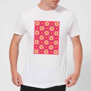 FLORAL PATTERN Men's T-Shirt - White
