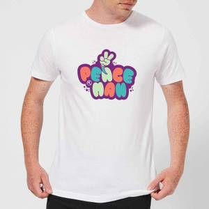 Peace Man Men's T-Shirt - White