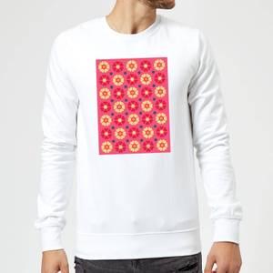 FLORAL PATTERN Sweatshirt - White