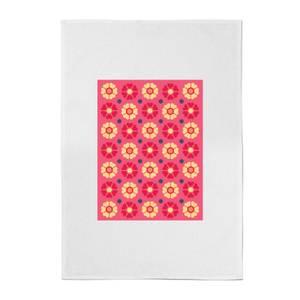 FLORAL PATTERN Cotton Tea Towel
