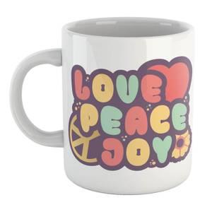 Love Peace Joy Mug