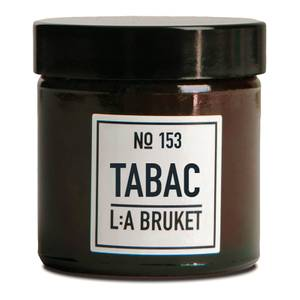 L:A BRUKET Small Tabac Scented Candle 50g