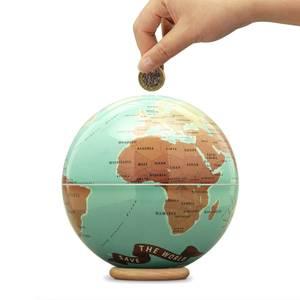 Save The World Money Bank