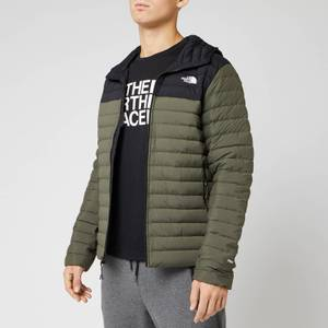 The North Face Men's Stretch Down Hooded Jacket - New Taupe Green