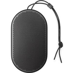 Bang & Olufsen BeoPlay P2 Portable Splash-Resistant Bluetooth Speaker - Black