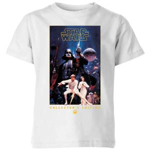 Star Wars Collector's Edition kinder t-shirt - Wit