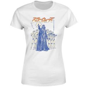 T-Shirt Star Wars Kana Force Choke - Bianco - Donna