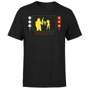 Star Wars Stormtrooper Targeting Computer Men's T-Shirt - Black