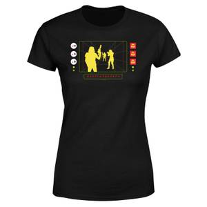 Star Wars Stormtrooper Targeting Computer Women's T-Shirt - Black