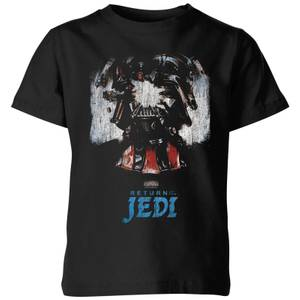 Star Wars Shattered Vader kinder t-shirt - Zwart