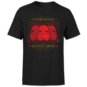 T-Shirt Star Wars Stormtrooper Legion Grid - Nero - Uomo
