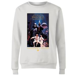 Star Wars Collector's Edition Women's Sweatshirt - White