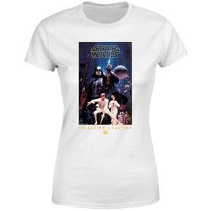 T-Shirt Star Wars Collector's Edition - Bianco - Donna