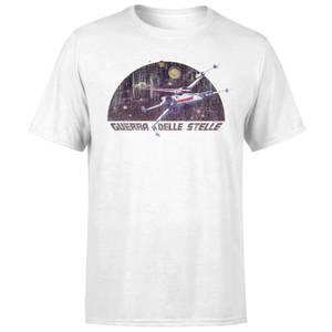 Star Wars X-Wing Italian Men's T-Shirt - White