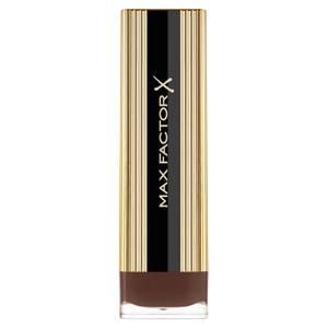 Max Factor Colour Elixir Lipstick with Vitamin E - 145 Deep Mahogany