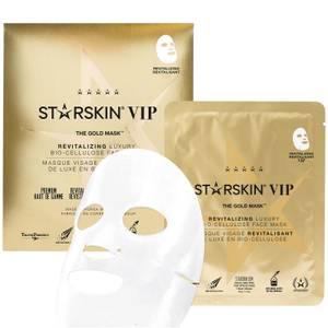 STARSKIN The Gold Mask VIP Revitalizing Luxury Bio-Cellulose Second Skin Face Mask 1.4 oz